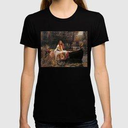 The Lady of Shallot - John William Waterhouse T-shirt