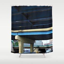 I-794 Over MKE Shower Curtain