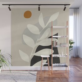 abstract minimal 33 Wall Mural
