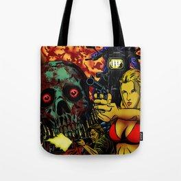 Bullet Orgy Tote Bag