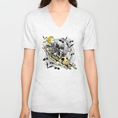 Calvydia and Beetlehobbes Unisex V-Neck