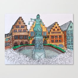 Frankfurt, Germany Canvas Print