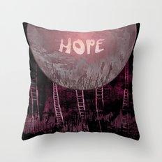 Hope, Climbing / Wonderful Planet 13-11-16 Throw Pillow
