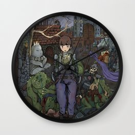 The Aftermath Wall Clock