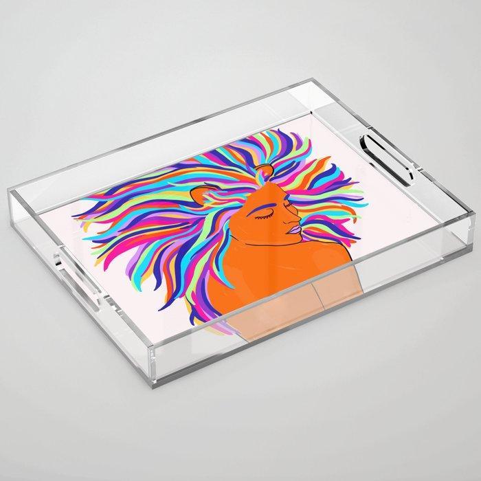 Leo - 2 Acrylic Tray