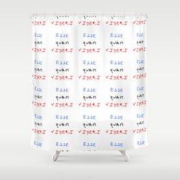 motto of north carolina – esse quam videri Shower Curtain
