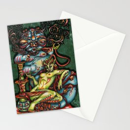 Mentalice and the Caterpillar Stationery Cards
