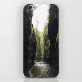 Oneonta Gorge, Oregon iPhone Skin