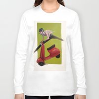moto Long Sleeve T-shirts featuring MOTO by XA-BCN