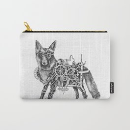 Foxley-Norris the Steampunk Fox Carry-All Pouch