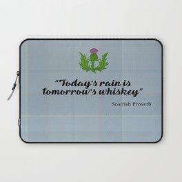 scottish proverb Laptop Sleeve