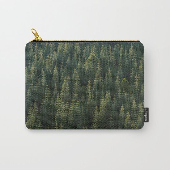 Evergreen #woods Carry-All Pouch