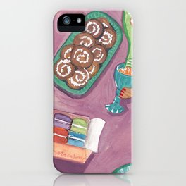 Let's do brunch - breakfast print iPhone Case