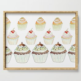 Have a Cupcake! Serving Tray