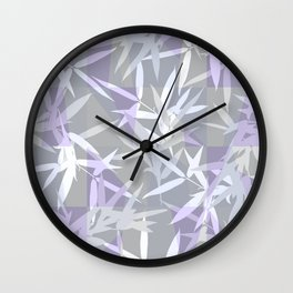 Elegant Grey Origami Geometric Effect Design Wall Clock