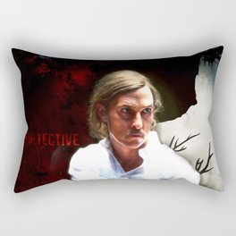 True Detective Rectangular Pillow