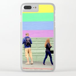 Just One Look Clear iPhone Case