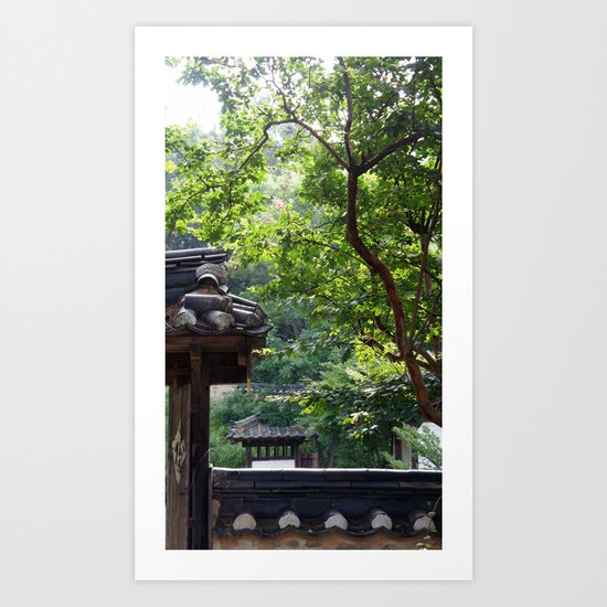 Jirye Artists' Colony 7 Art Print