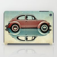bug iPad Cases featuring love bug by Vin Zzep