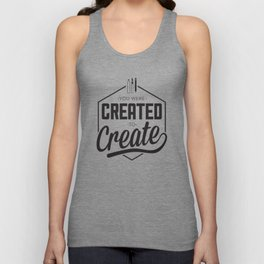 Created to Create Unisex Tank Top