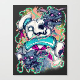 The Coming of Gozer Canvas Print