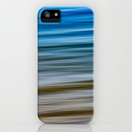Lake Michigan Shoreline iPhone Case