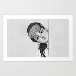 Holly Golightly 3 Art Print