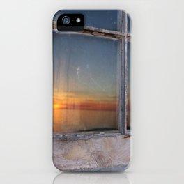 Window Sunset  iPhone Case