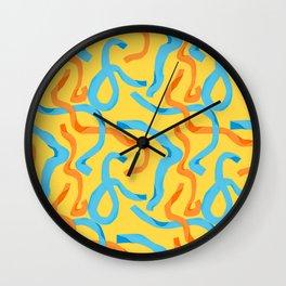 Streamers 2 Wall Clock