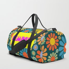 feminist girl power quote Duffle Bag