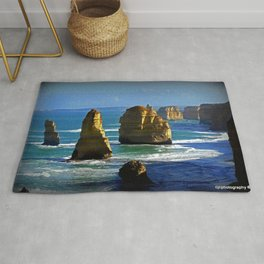 Limestone Rock Stacks - Twelve Apostles Rug