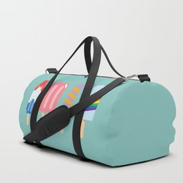 Popsicle - Four Pack Teal #835 Duffle Bag