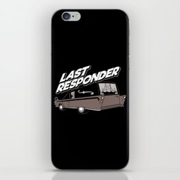 Last Responder | Mortician iPhone Skin