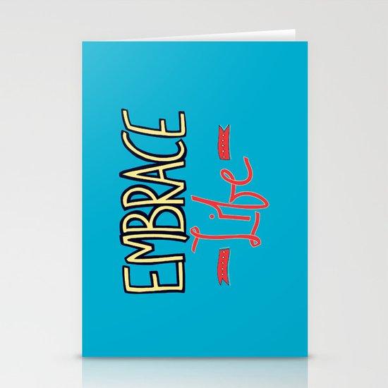 Embrace Life Stationery Cards