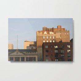 City life Metal Print
