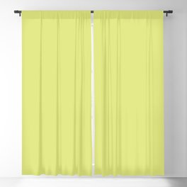 Tennis Ball ~ Chartreuse Blackout Curtain