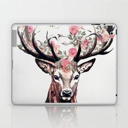 Deer and Flowers Laptop & iPad Skin