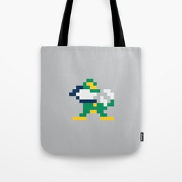 8bit Notre Dame Logo Tote Bag