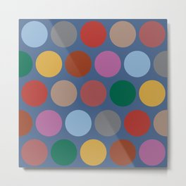 Dots Autumn Color - Living Hell Metal Print