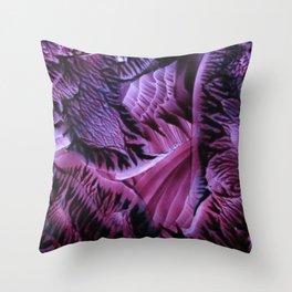 Mesmerizing Violet Throw Pillow