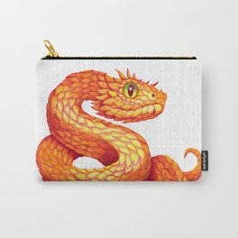 Golden eyelash viper Carry-All Pouch