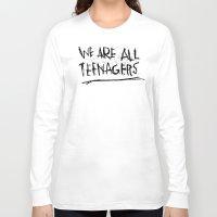 tim shumate Long Sleeve T-shirts featuring TIM FITE by Josh LaFayette