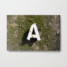 Abandoned A Metal Print