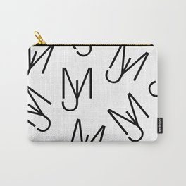 Jeff Martin - Repeating - White Carry-All Pouch