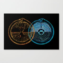 As Above so Below Canvas Print