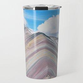 Rainbow Mountain Travel Mug