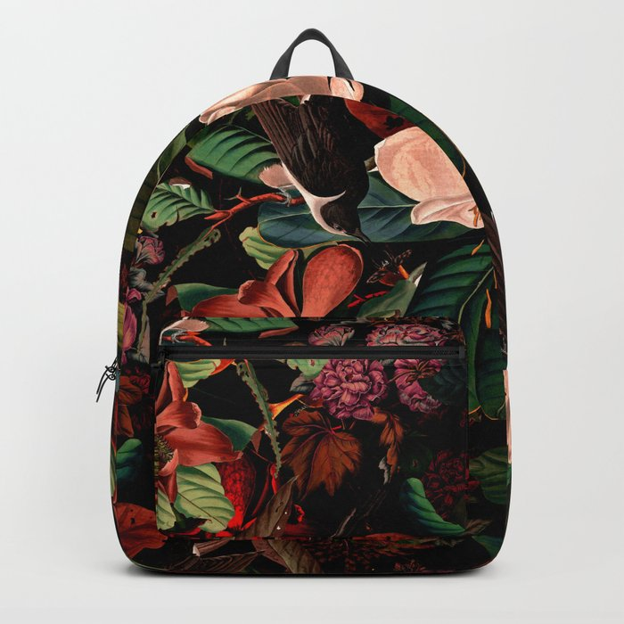 FLORAL AND BIRDS XIV Rucksack