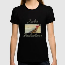 Breakwater on Lake Ponchartrain T-shirt