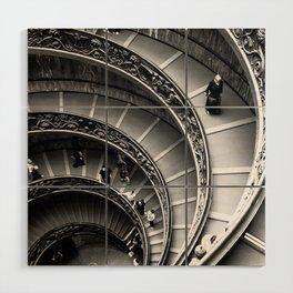 Vatican Stairway Wood Wall Art