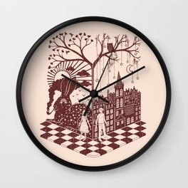So close yet so far away Wall Clock